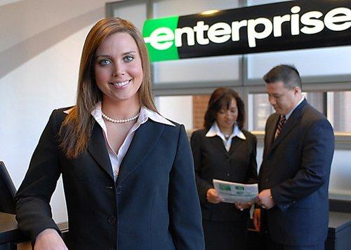 enterprise rent a car employee