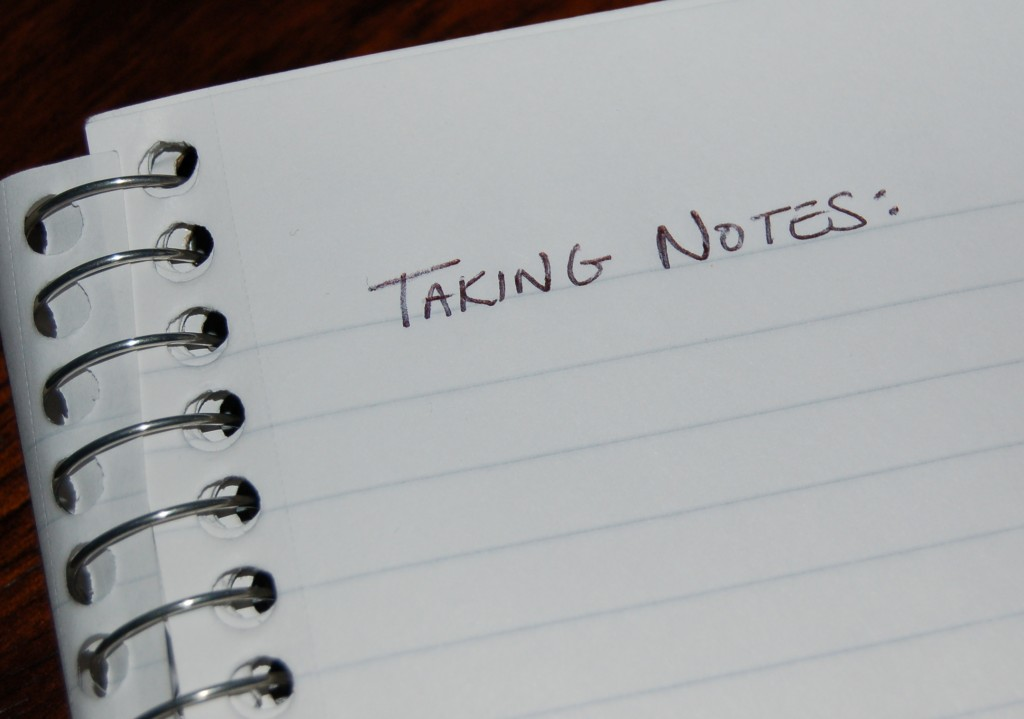 taking notes Note-taking is one of those skills that rarely gets taught teachers and professors assume either that taking good notes comes naturally or that someone else must have already taught students how to take notes.