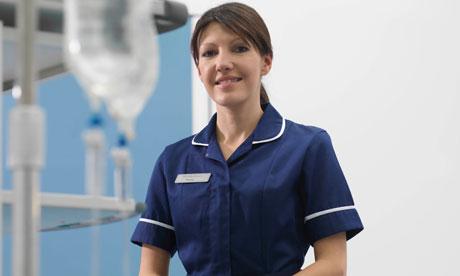 Nurse in hospital environment