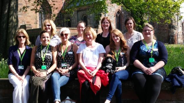 Staff day out Carlisle 05 2016 1