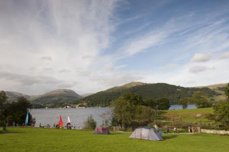 Low Wray Campsite, Cumbria.