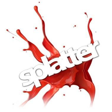 splatter logo