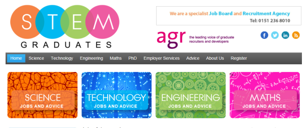 stem grads home page
